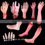 Horror artificial limbs halloween props china