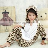 Girls Boys Pajamas Sets Baby Onesie Sleepwear Children Cosplay Animal Onesie for Kids coral fleece