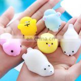 2017 Trendy Flexible Silicone Squishy Ball Figure 3D Animal Doll, Stress Relief Finger Toy Adorable Creative Gift