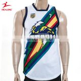 China design dye sublimated fiji rugby jersey