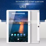 Cube U63 Phone Call Tablet, 9.6 inch, 1GB+16GB cheap china android tablet rugged tablet