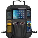 multi pocket travel storage pockets bag with tablet holder