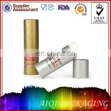 Custom Gold Paper Empty Lipstick Tube Packaging Design