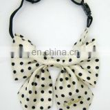 popular high quality dot fashion women bow tie