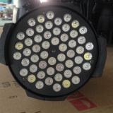 light up parcan 54x3W RGB 3in1 LED Par Light for stage show