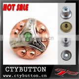 CTY-DP(06) hot sale jeans button with stone