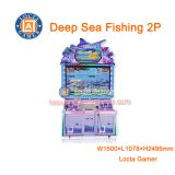 Zhongshan amusement equipment redemption Deep Sea Fishing 2P Shooting Fish Hunting Game Machine