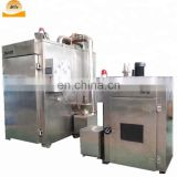 Electric Power Source and Meat Processing Machinery,Deck Baking Oven Type Fish Smoking Machine