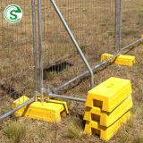 Factory supply cheap free standing fencing galvanized portable temporary fence