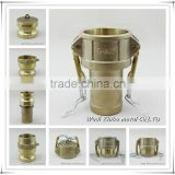 "Brass camlock coupling hose pipe fittings 1/2""-6"", A/B/C/D/E/F/DC/DP manufacturer"