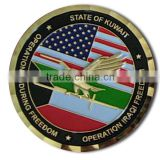 Promotional Fashionable Cheap Best Selling Engraved Custom Shaped Round Challenge Coin Wholesale