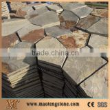 Rusty Slate Natural Floor Tile Cheap Driveway Paving Stone