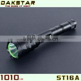 DAKSTAR ST16A 1010LM CREE XML T6 18650 Police Emergency Rechargeable LED Flashlight
