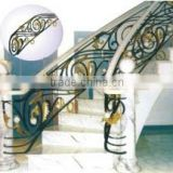 Foshan commercial factory price elegant metal steel staircase handrail                                                                         Quality Choice