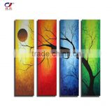100% handpainted oil painting handmade beautiful scenery oil painting on canvas