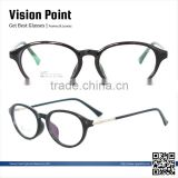 TR90 mixed material oval style 2014 trendy optical eyewear from china wholesale display stand for women