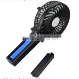 USB Mini Fan Portable Electric Fans Portable Rechargeable Desktop Fan Cooling Operated Fan with Battery