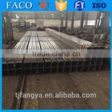 Tianjin square rectangular pipe ! steel bar 6m length hot sale square bright 45 carbon steel tube