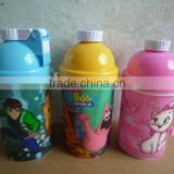 3D Plastic water bottle/kettle/canteen/jug 400ml