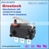 40t85 mini waterproof micro switch, hook lock door switch for 12v car electric kettle