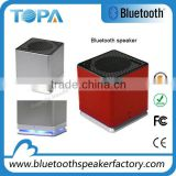 Rechargeable Bluetooth Speaker with Built-in Microphone Portable Mp3 Player with retail box speaker bluetooth