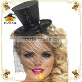 Fancy Hair Clip mini top hat headband for Party