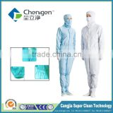 Working clothes, 5mm grid conductive fiber esd coverall