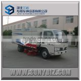 2015 new type Dongfeng 4X2 floor sweeper new tow road sweeper for road sweeper truck