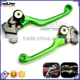 BJ-LS-007 Dirt Bike 3 Finger CNC Pivot Aluminum Motorcycle Clutch Brake Lever for KTM 250EXC/EXC-F