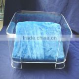 factory directly sale customized acrylic large dog bed