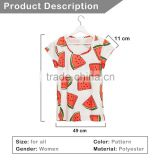 Brand New Custom 3D Printing Watermelon White Printed T-shirt Factory Price