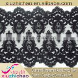 136-2 lace factory embroidery fabric sexy women underwear Garment accessories dress polyester