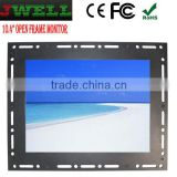 "10"" Open Frame Monitor,Lcd open frame monitor, monitor with metal case with HDMI VGA USB TOUCH"