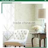 cheapest embossed non woven wallpaper, green country letters wall decor for tv background wall , mould-proof wall sticker brands