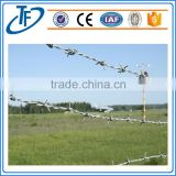TOP Security ECO Friendly PVC Coated / Galvanized Barbed Wire Used For Sale (China Supplier)