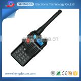 Professional FM VHF UHF analog handheld radio transceiver or walkie talkie with military quality