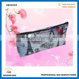 2016 Wholesale fashion promotional Satin cosemtic bag women make personalized cosmetic bag