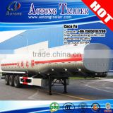 Tri axle oil tanker truck trailer use gasline storage liquid transporting 50000 liters fuel tank semi trailer                                                                         Quality Choice