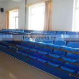 high quality best Retractable plastic mobile grandstand seats