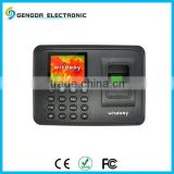 NEWEST CHINA CHEAP FINGERPRINT EMPLOYEE ATTENDANCE MACHINE FINGERPRINT +PASSWORD WITH SIMPLE OPERATION