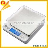 Food scale 0.01oz/0.1g 2000g Digital Kitchen Food & Jewelry Weight Scale 2 AAA Batteries kitchen scale