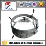 1x19 Low carbon steel wire rod used in high-frequency coaxial cable