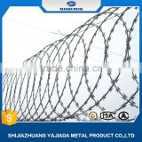 china supplie colorful galvanized razor barbed wire wholesale