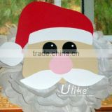 popular diy party flowers ball Kids favor christmas cartoon indoor decoration Santa Claus shaped 2014 christmas decoration