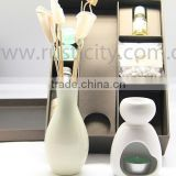 Brand Ceramic Oil Burner Set Essential Oil Burner Gift Set Aroma Diffuser Set