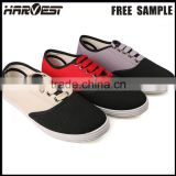 Wholesale brand name canvas shoe manufacture , canvas slip on shoe