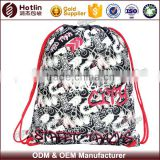 Customized felt drawstring bag set backpack