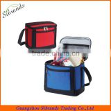 Hot sell 6 pack insulated beer can bottle cooler bag with bottle holder/insulated cooler bag