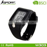 ISPORT Finger Sensor Heart Rate Pulse Watch with Pedometer Function