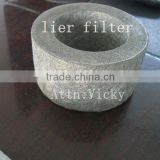 90% porosity sintered metal fiber felt engine oil filter